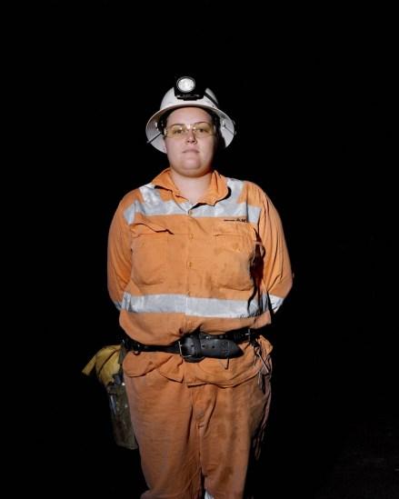 Amy Stein, Miner III, Peak Gold Mines, Cobar