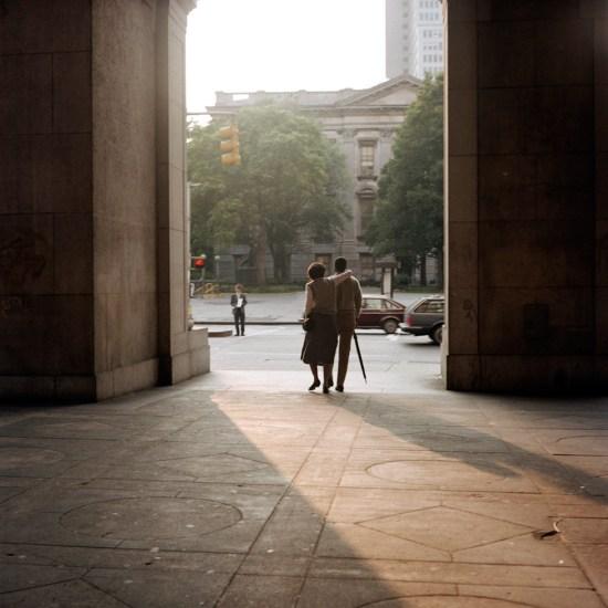 Janet Delaney, Couple Leaving Subway