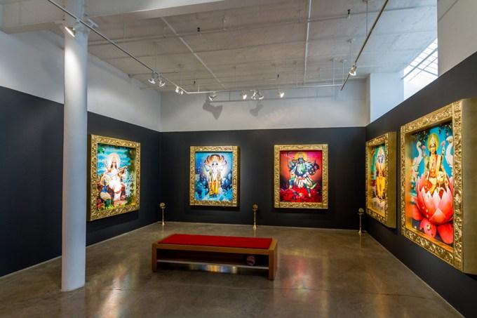 Manjari Sharma, Darshan Installation Image