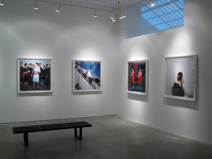 Exhibition image, Brian Finke, Flight Attendants