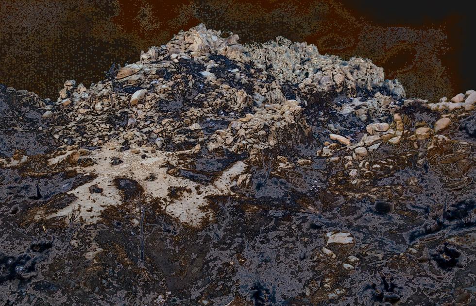Aziz + Cucher, Scenapse, Burnt Mountain