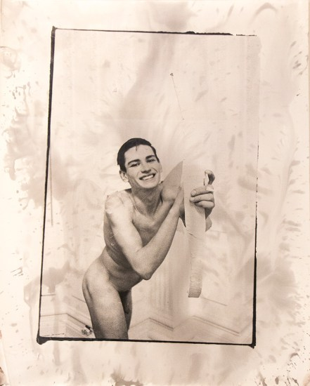 Mark Morrisroe, Self Portrait as Cupid