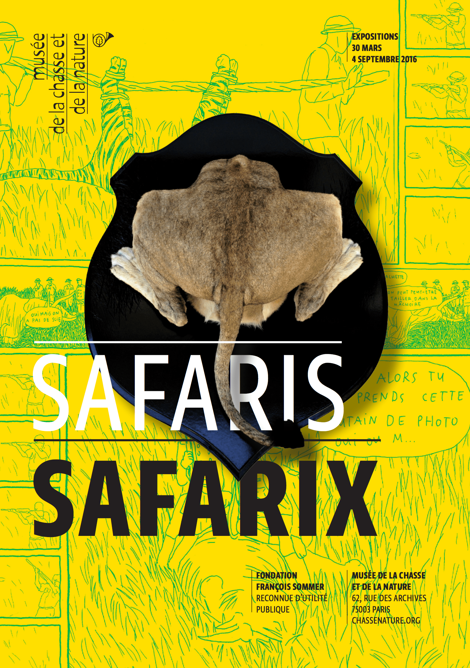 Mark Beard, Safaris Safarix