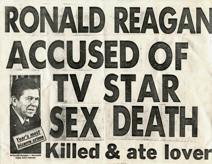 Keith Haring, Ronald Reagan, Xerox