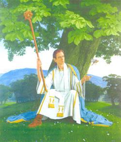 Saint Mungo - Patron Saint of Glasgow