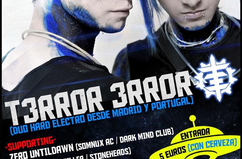 Sabado 26 de Diciembre. Fiesta Hard Electro T3RR0R 3RR0R