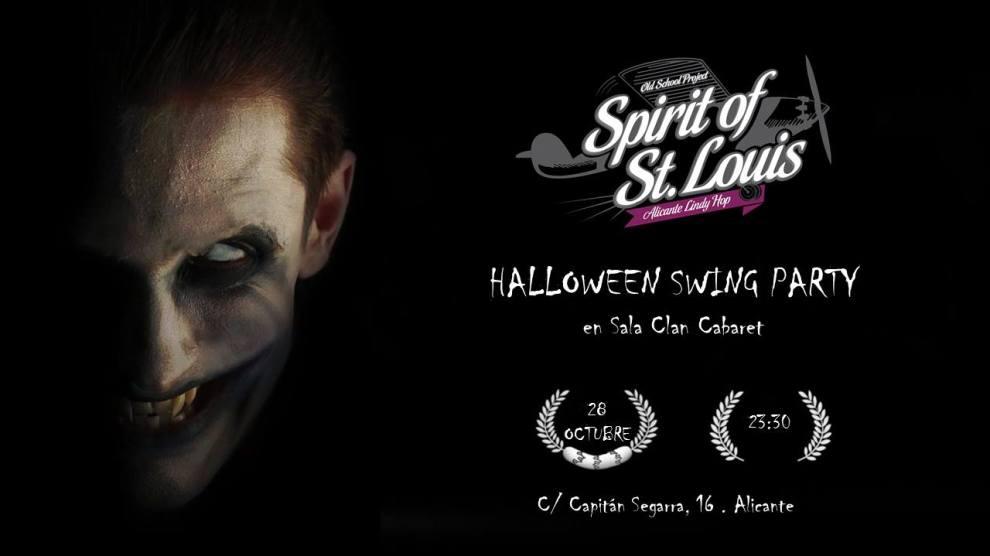 Halloween swing party. Sábado 28 de Octubre