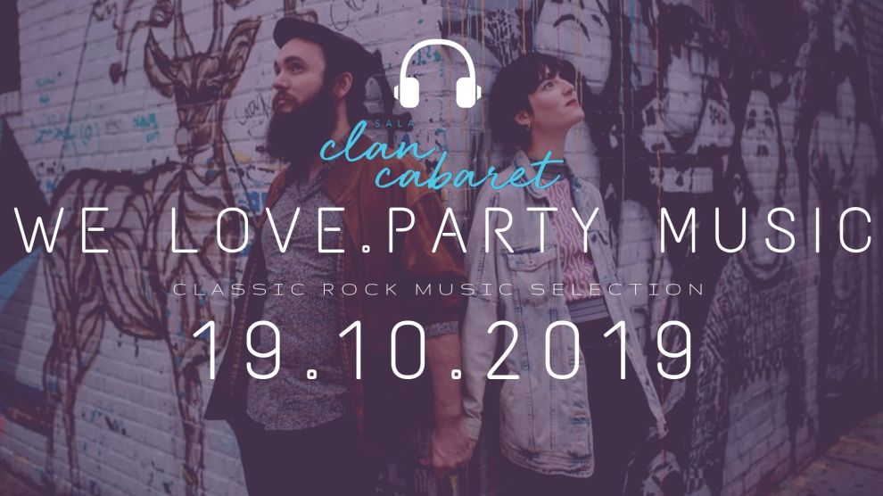 we love. Music party | 19 octubre