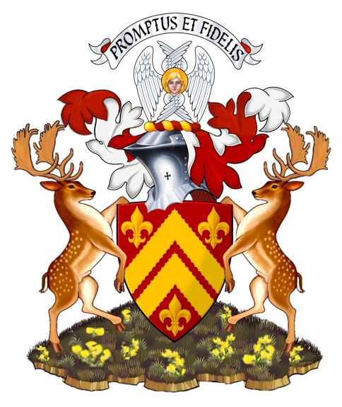 Arms of the Chief of Carruthers