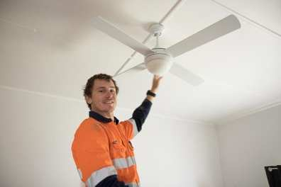 Clancy Corp Electrician Wauchope - Fan Replacement-7
