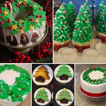 Christmas Cake decorating Ideas