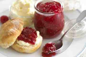 Raspberry and Rosewater jam