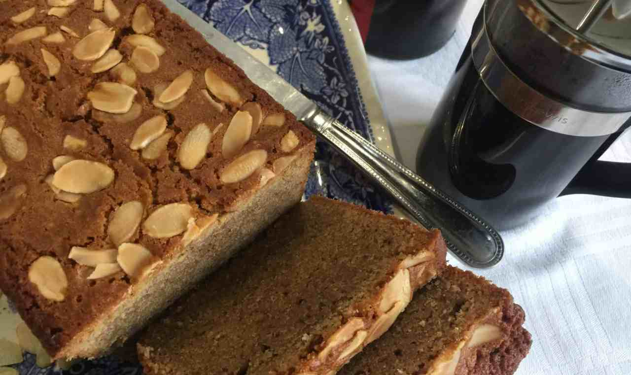 Coffee and Almond Madeira Cake