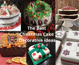 The Best Christmas Cake Decorative Ideas