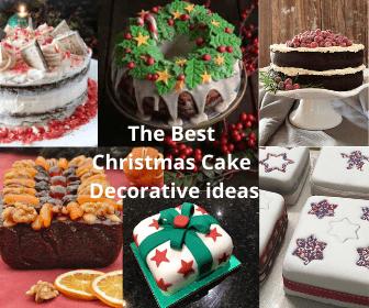 The Best Christmas Cake Decorative Ideas