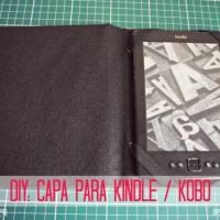 DIY: capa para Kindle (ou Kobo) a partir de um livro
