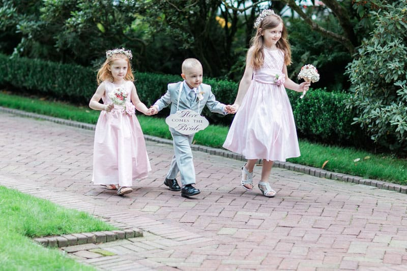 Unique Flower Girl And Ring Bearer Ideas; Bridal Party Tips