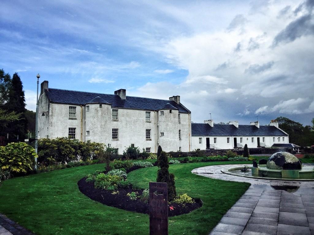 David Livingstone's Birthplace. The National Trust
