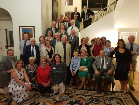 Group at the Irish Ambassador's Residence (1)