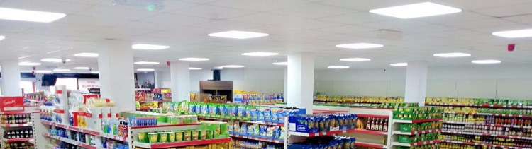 LED Lights for Grocery Store | Clanrye Electrical Newry