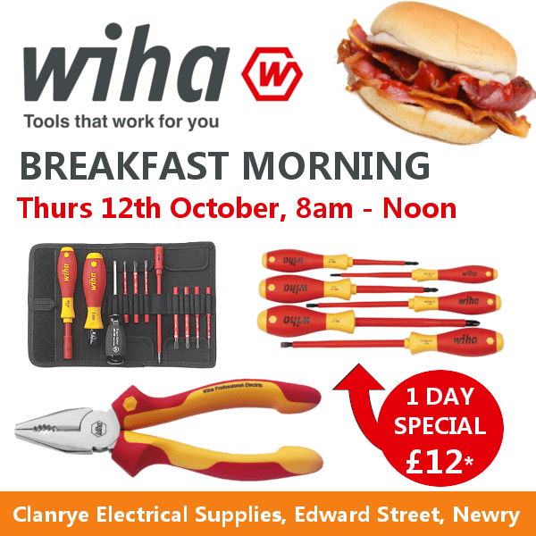 Wiha Breakfast Morning Poster