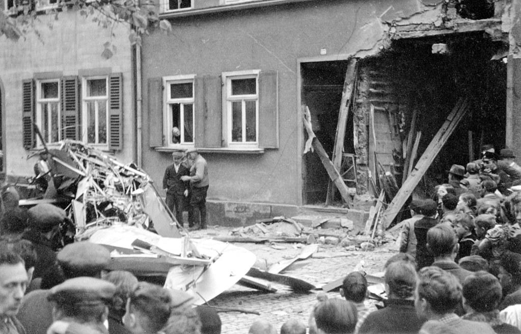 Heiligenstadt Lindenallee Flugzeugabsturz 1939