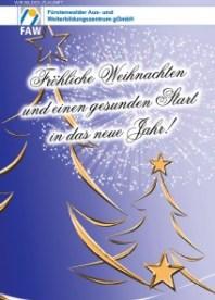 Fürstenwalder Aus- und Weiterbildungszentrum gGmbH_Weihnachtsgruesse