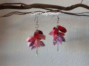 Pink Dangling Earrings CODE : DE003 PRICE : RM18/USD6