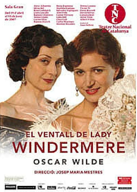 Clara Gali - El ventall de Lady Windermere - TNC