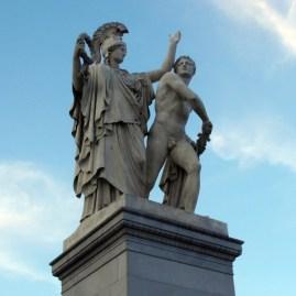 0306 Schlossbrücke Skulptur 79