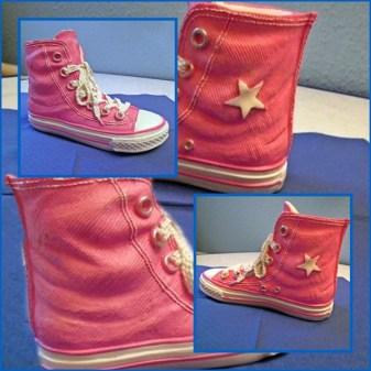 rosa Stiefelchen