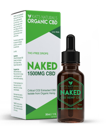 Kat's Naturals Naked CBD Oil 1500mg - Clara Jane Nashville