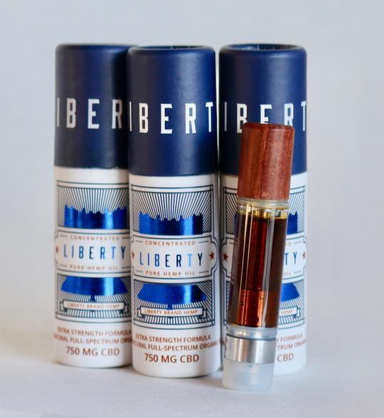 Liberty 750mg CBD Cartridge