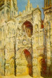 Claude Monet, Rouen Cathedral, oil on canvas