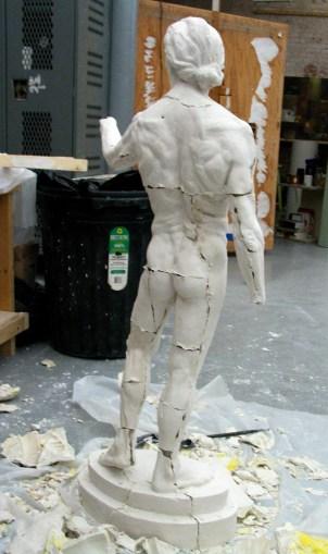 Casting a Plaster Figure Sculpture