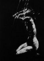 Clara Lieu, monotype, Falling series