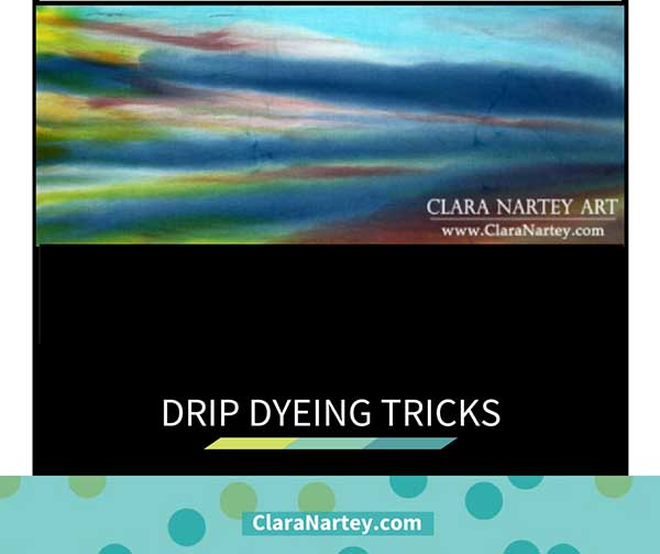 Drip Dyeing Turned Dye Painting : How I Fixed The Race