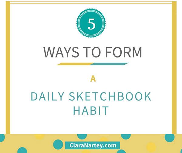 daily sketchbook practice