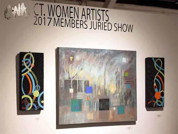 Clara Nartey's work at CWA Exhibition
