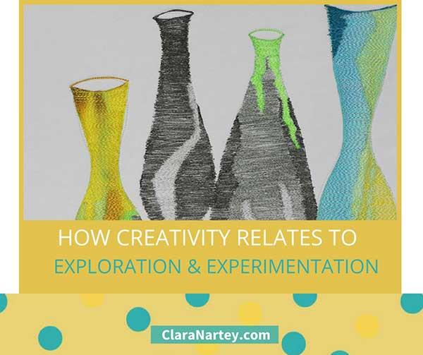 creativity is exploration
