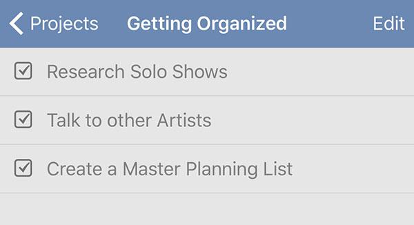 solo art show list