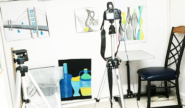Photograph Your Solo Art Show