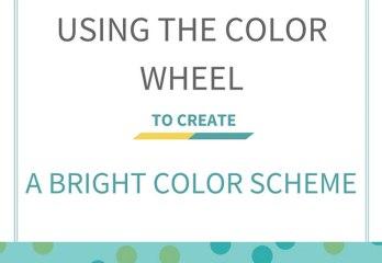 a bright color scheme