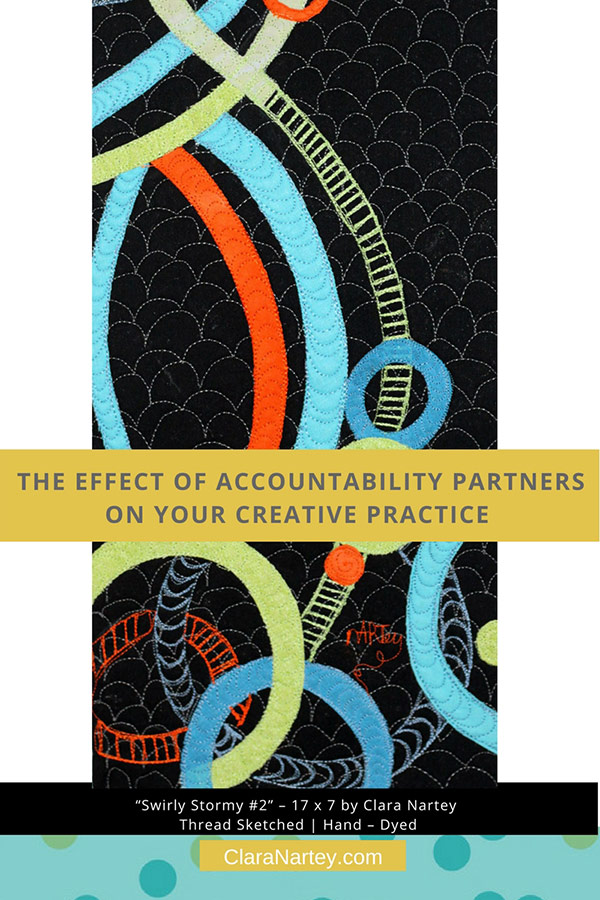 Accountability Partner on Creative Practice