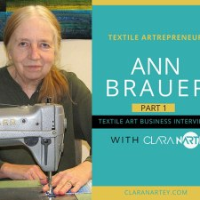 How to Sell Textile Art on Etsy with Ann Brauer