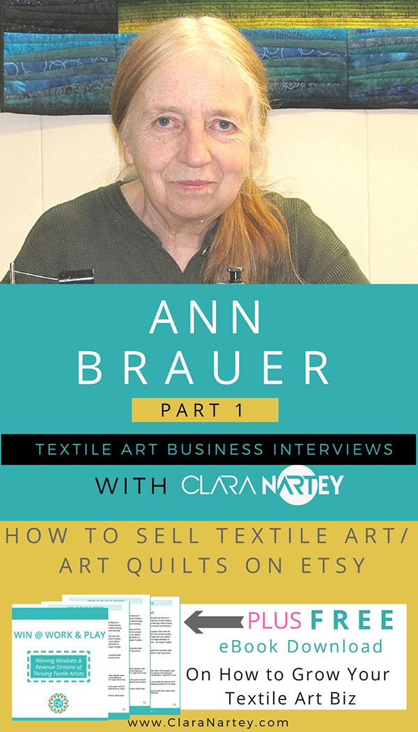 Ann Brauer on Selling on Etsy
