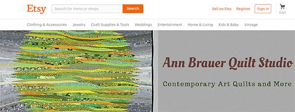 Ann Brauer's Etsy Shop