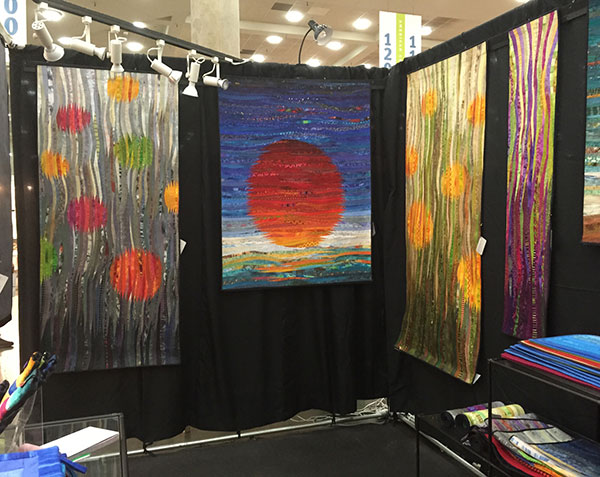 Ann Brauer's Booth at the Baltimore Craft Show - 2017