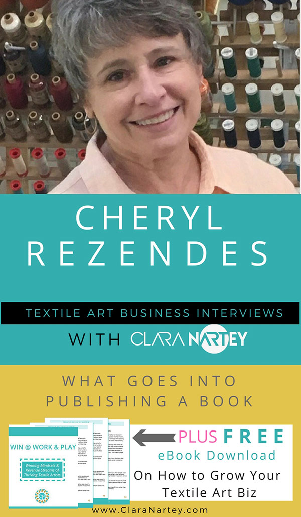 Fabric Surface Design Book by Cheryl Rezendes