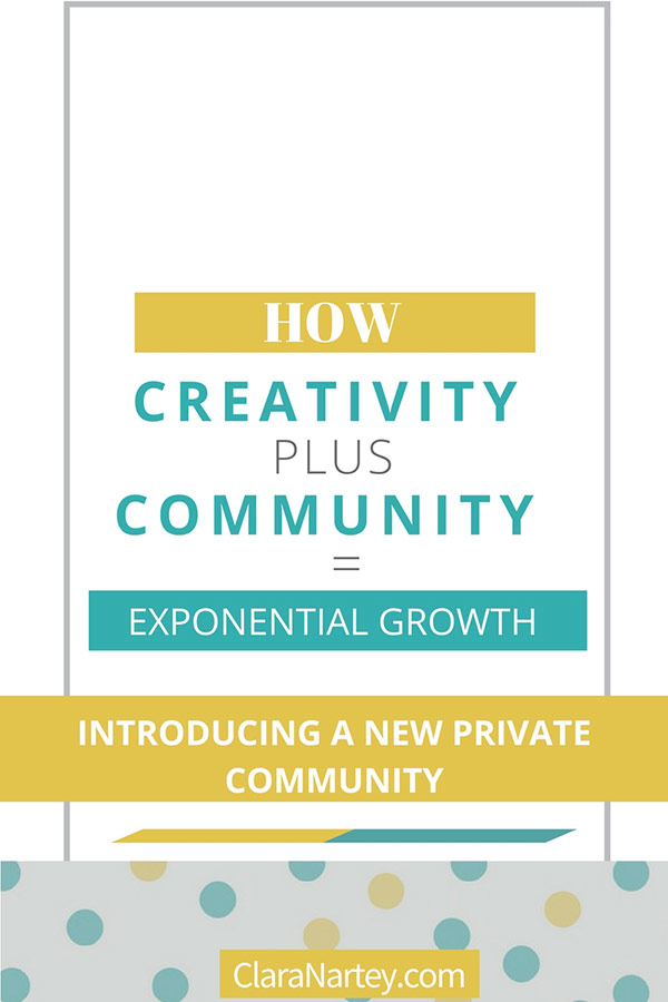 New Facebook Creative Community